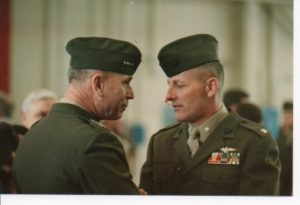 general mike ryan talking to commandant